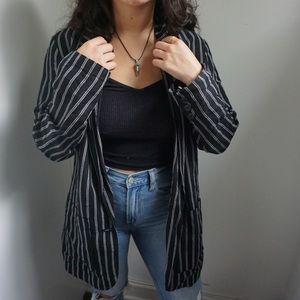 Jackets & Blazers - Stripped blazer